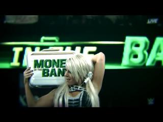 Alexa bliss vs natalya vs charlotte vs becky lynch vs naomi vs lana vs sasha banks vs ember moon - money in the bank 2018