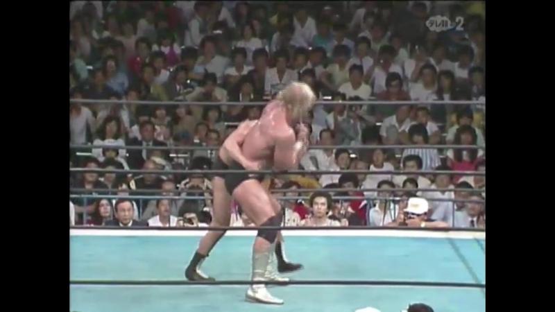 Халк Хоган против Антонио Иноки (NJPW IWGP Championship League 1983)