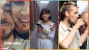 Участники проекта Песни на ТнТ, на съёмках прямого эфира во Вконтакте канал ТНТ 26.6.18
