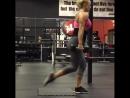Тренировка на попу и ножки с гантелями