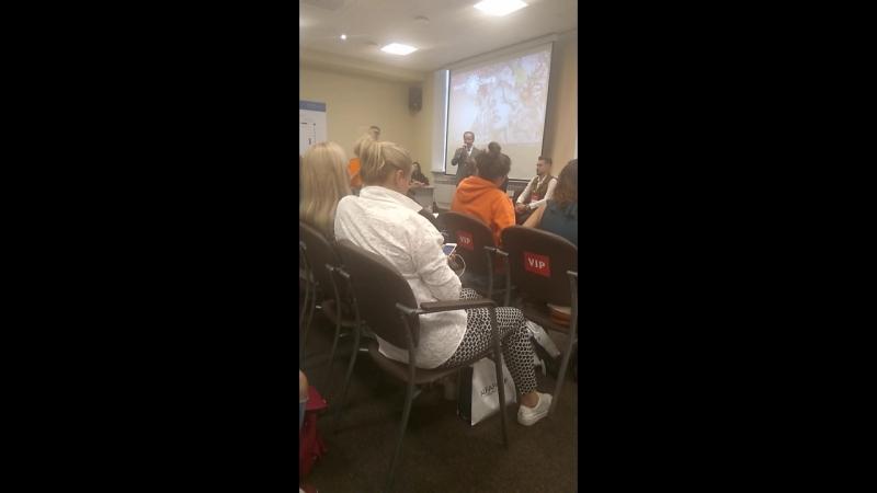 выступление руководителя Невских Берегов , на бьютиконференции