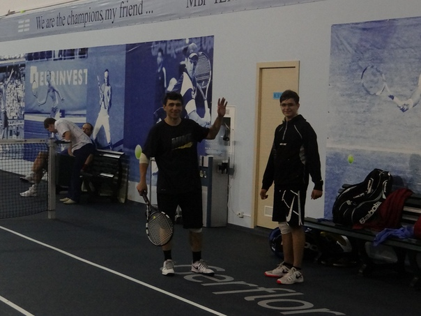 Летнее первенство ТК «Чемпион» 2016 в мужском парном разряде категории «Мастерс».