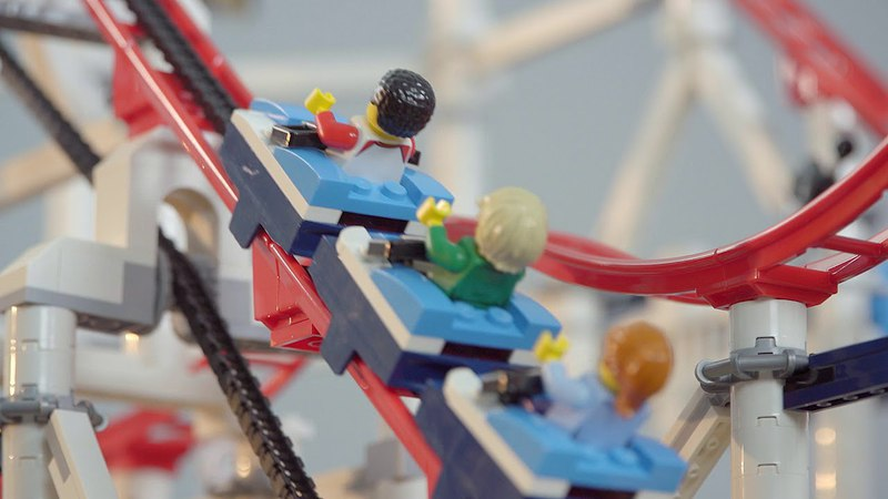 LEGO Creator Expert Roller Coaster Product video