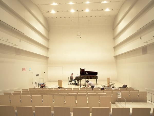 Wonderful World (Solo Piano version) DSD 5.6MHz/1Bitレコーディング風景