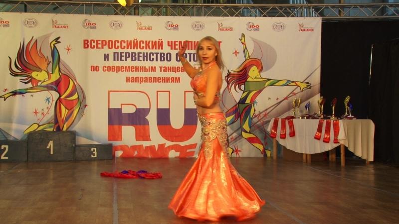 Чемпионат и Первенство России 2018 Oriental, полуфинал - Ирина Бодина
