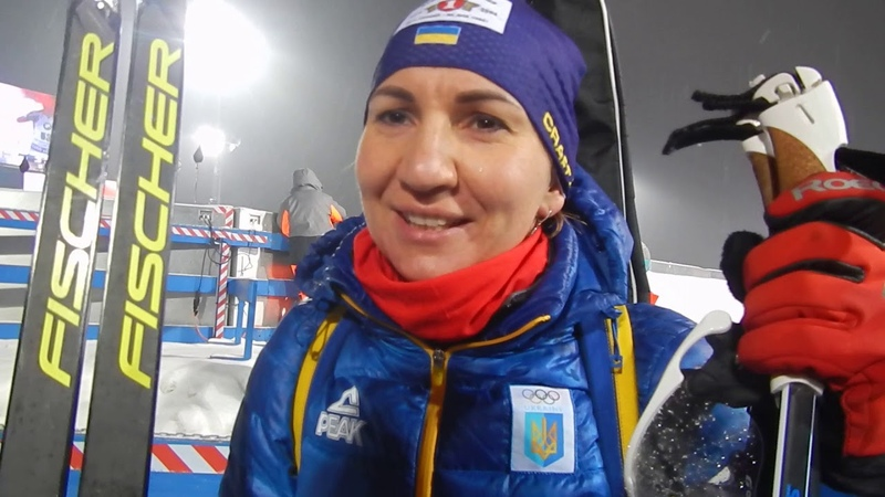 Интервью Елены Пидгрушной после финиша спринтерской гонки в Нове Место-2018