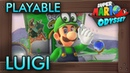 Super Luigi Odyssey - PLAYABLE LUIGI in Super Mario Odyssey