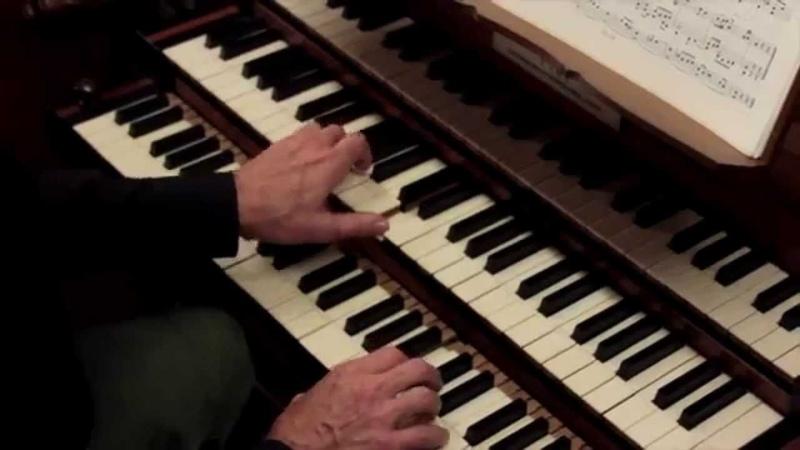 Johann Sebastian Bach An Wasserflüssen Babylon BWV 653 b