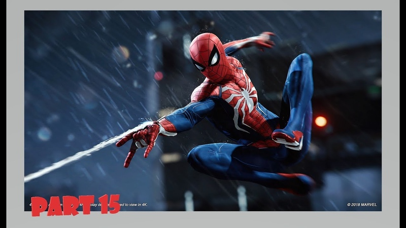 Marvel's Spider-Man Official Only PS4 Walkthrough Part 15 1080p