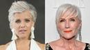 Grey Granny 69 wird CoverGirl grauhaarige