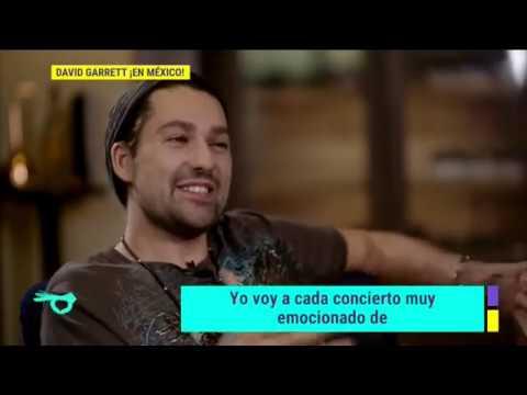 ¡El violinista alemán, David Garret, regresa a la Ciudad de México! | De Primera Mano