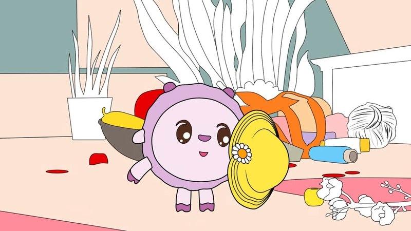 Малышарики - Раскраска для детей - Сюрпиз