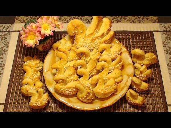 Польское печенье Лебеди с аммонием Ciastka Łabędzie – Amoniaczki