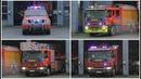 Brandweer Zaventem met spoed naar Brand Gebouw Rijmelgem in Sint Stevens Woluwe