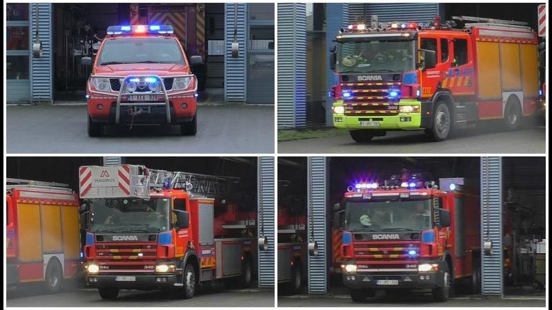 Brandweer Zaventem met spoed naar Brand Gebouw Rijmelgem in Sint-Stevens-Woluwe
