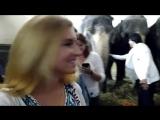 Мишель Фам и Catherine Ricci Кормим Слоников,Цирковой Фестиваль на Фонтанке 27.05.2018