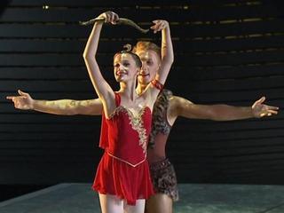 Елена Свинко и Георгий Болсуновский Россия Па де де Диана и Актеон из балета Эсмеральда