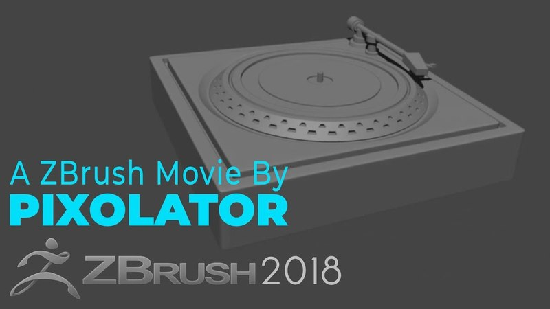 Project Primitive Turntable Time lapse by Pixolator - ZBrushCentral