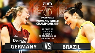 Germany vs Brazil - Highlights | Women's World Championship 2018