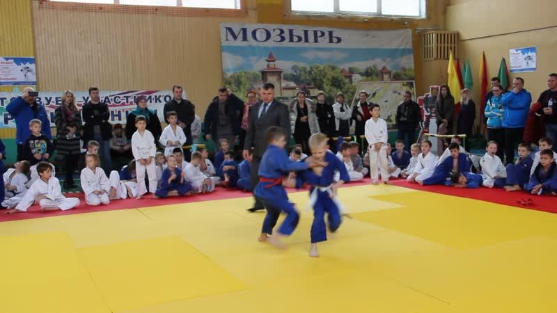 Дроздов Ренат на турнире по дзюдо в Мозыре 10.11.18 г.