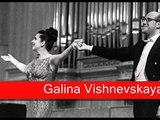 Galina Vishnevskaya Puccini - Tosca, 'Finale'