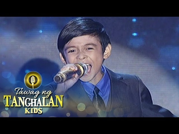Tawag ng Tanghalan Kids Keifer Sanchez | Shine (Grand Finals)