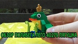 Обзор полибега Lego Creator 40279 Лягушка / Lego Creator 40279 Frog Polybag Review