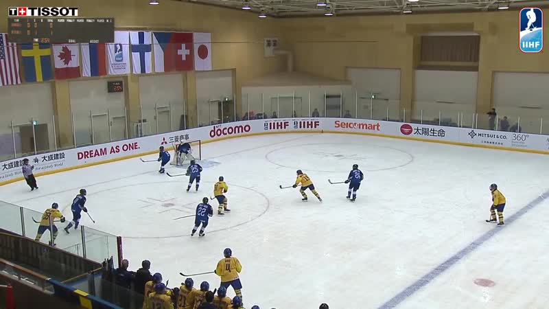 Sweden vs. Finland - 2019 IIHF Ice Hockey U18 Womens World Championship