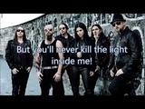 Lacuna Coil - Kill the Light (Lyrics Video) HQ Audio