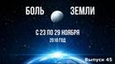 Катаклизмы за неделю с 23 по 29 ноября
