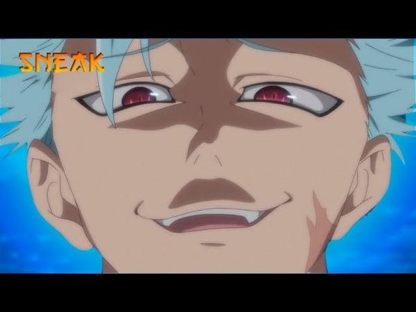 Семь смертных грехов 2 - Бой Бана и Мелиодаса против Синих Демонов