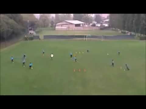 Soccer drills F.C. Internazionale Milan - passing drills
