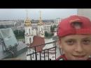 Витебск, городская ратуша в центре города. Обзор города со смотровой площадки. Часть 1.