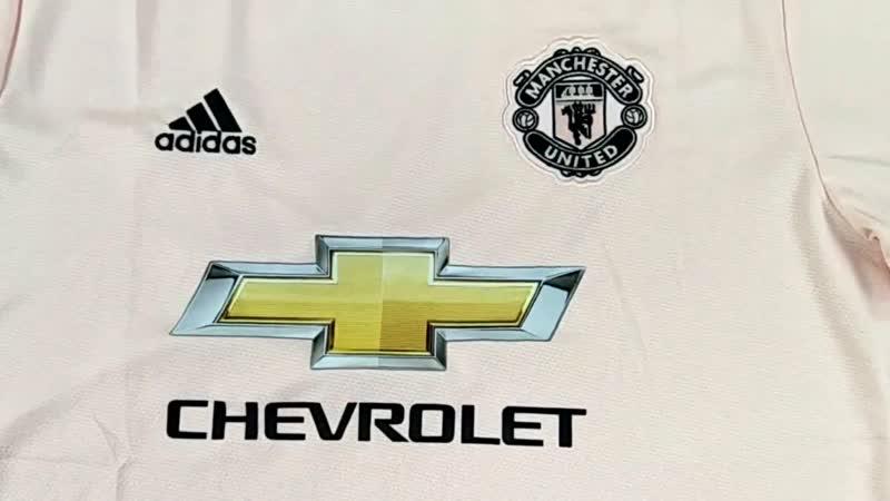 Манчестер Юнайтед. Обзор фанатской версии гостевой футболки.