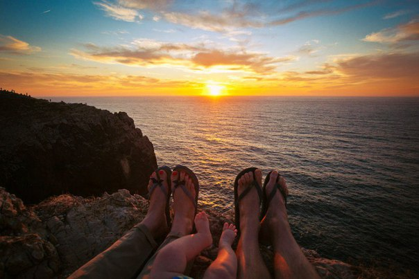 Надо путешествовать только с тем, кого любишь.