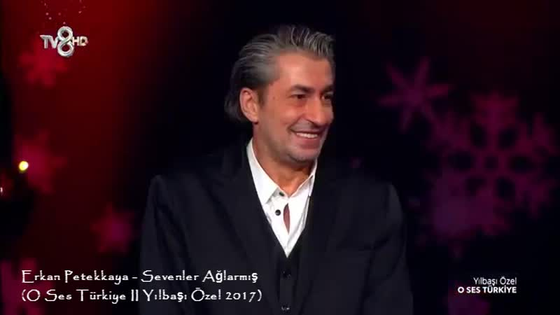 Erkan Petekkaya Sevenler Ağlarmış O Ses Türkiye II Yılbaşı Özel 2017
