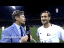 Francesco Totti vs Blue Friendly Match La Notte del Maestro ADDIO DI PIRLO