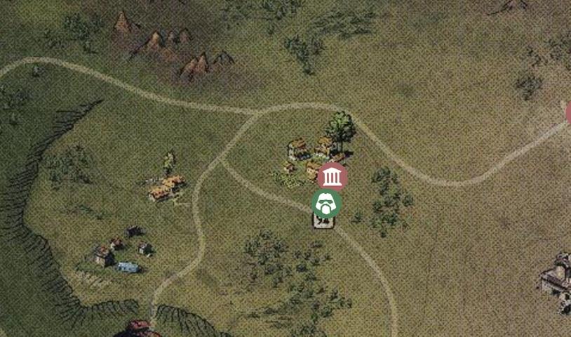 Aaronholt Homestead на карте в Fallout 76