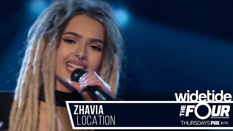 Zhavia - Location (Khalid cover) The Four Battle for Stardom