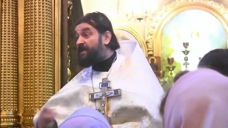 Проповедь не в бровь а в глаз Прот Андрей Ткачёв