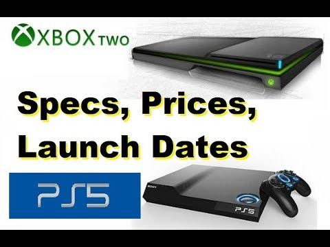 PS 5 vs Xbox Two | PS5 vs Xbox 2 | Playstation 5 | Launch Dates | Prices | Specs | 2018 Latest Video