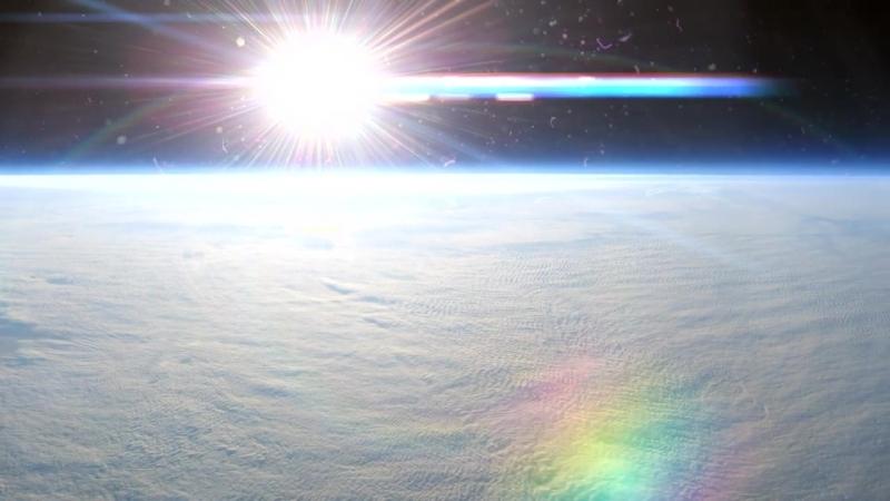 Панорама Земли Суборбитальная высота 30 40км HD