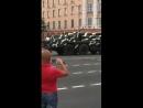 Из-за репетиции парада не дали проехать скорой с мигалками