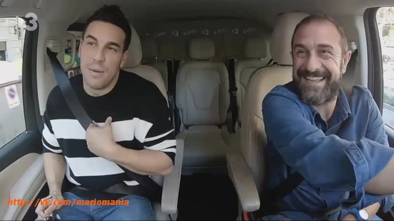 Марио на программе Al Cotxe на телеканале TV3 .