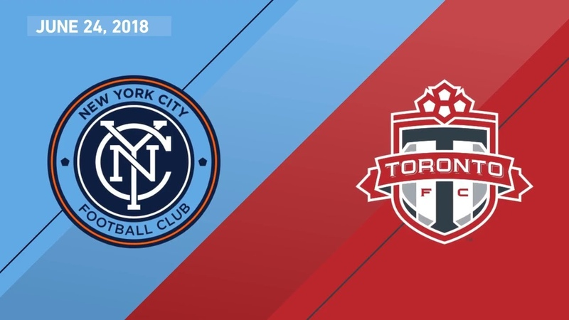 HIGHLIGHTS New York City FC vs. Toronto FC | June 24, 2018