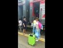 Дембельский поезд !!