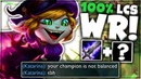 MY 100 LCS WINRATE TRISTANA TOP RETURNS! 😛 Voyboy