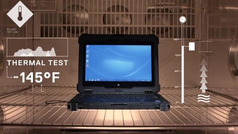 Самый прочный ноутбук - Dell Latitude Rugged / Ноутбук броневик / Сверхпрочный, крепкий (Е-Нотик, Владивосток, компьютеры)
