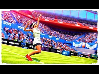 TENNIS WORLD TOUR   UPCOMING Games JUNE 2018 Trailer (Switch PC)