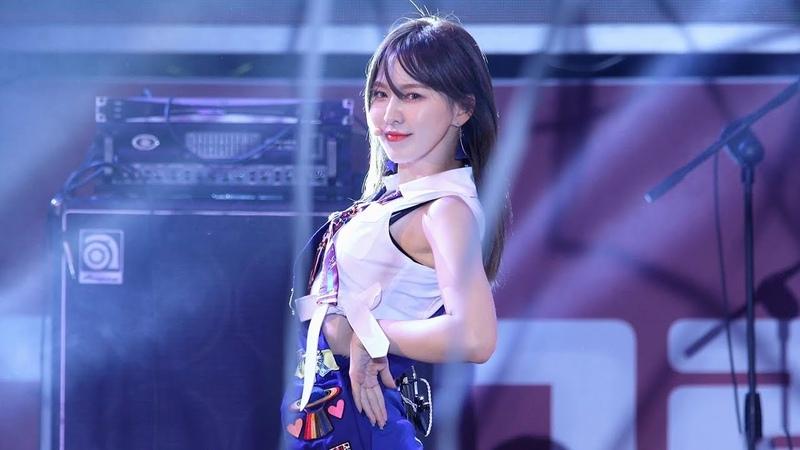 180916 레드벨벳(Red Velvet) 웬디(Wendy) - Power Up [어제그린오늘페스티벌] 4K 직캠 by 비몽
